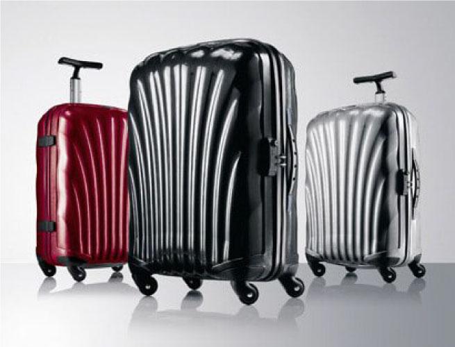 定番、だけど間違いない。バランスの取れたSamsoniteのブランドスーツケース